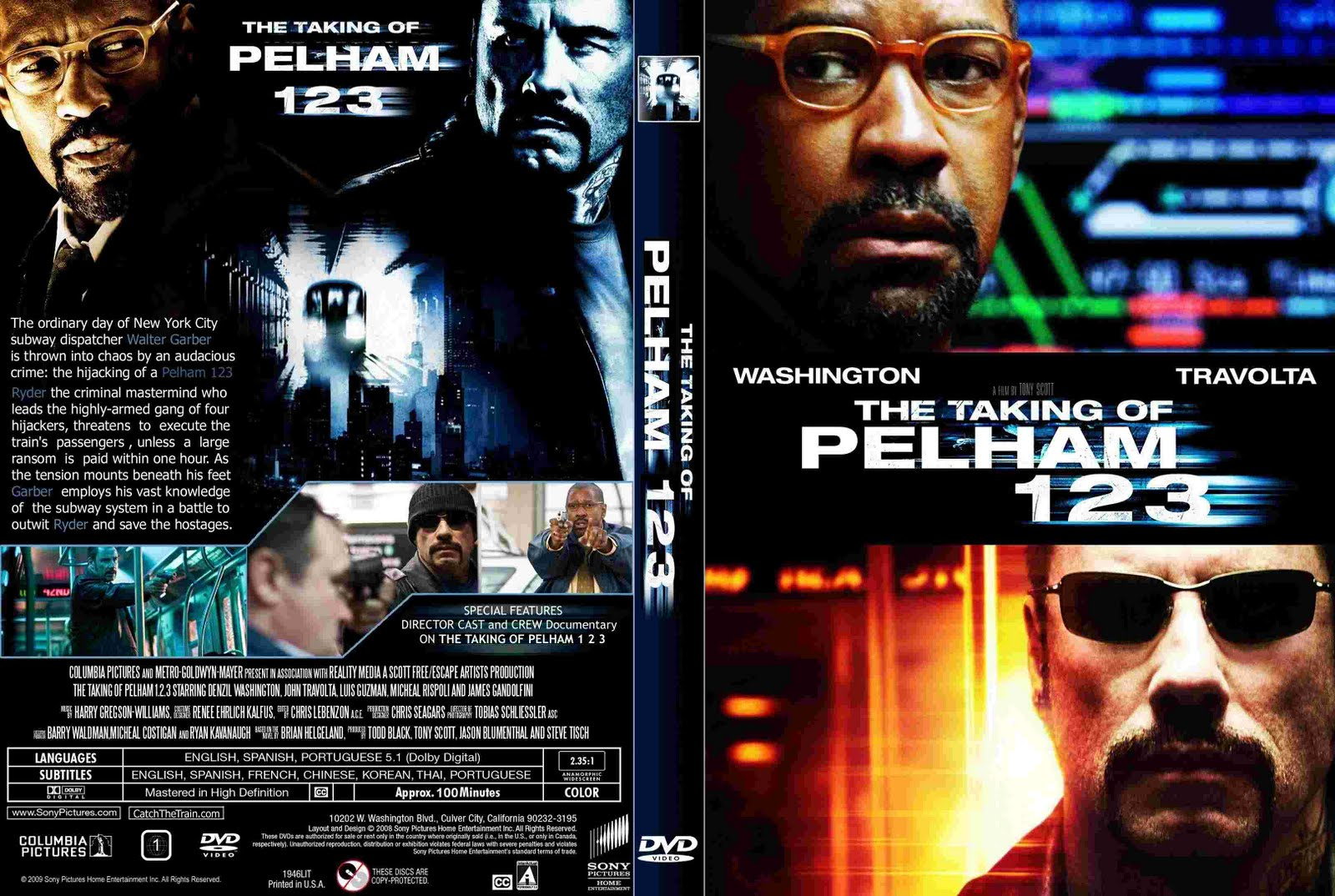 Dvd movies the taking of pelham 123 for The pelham
