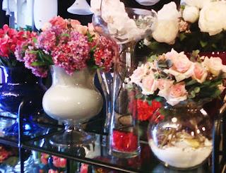 dekorasi vas bunga