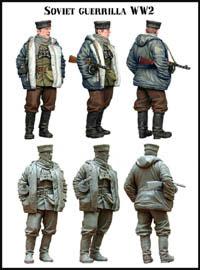 Soviet Guerrilla WW2