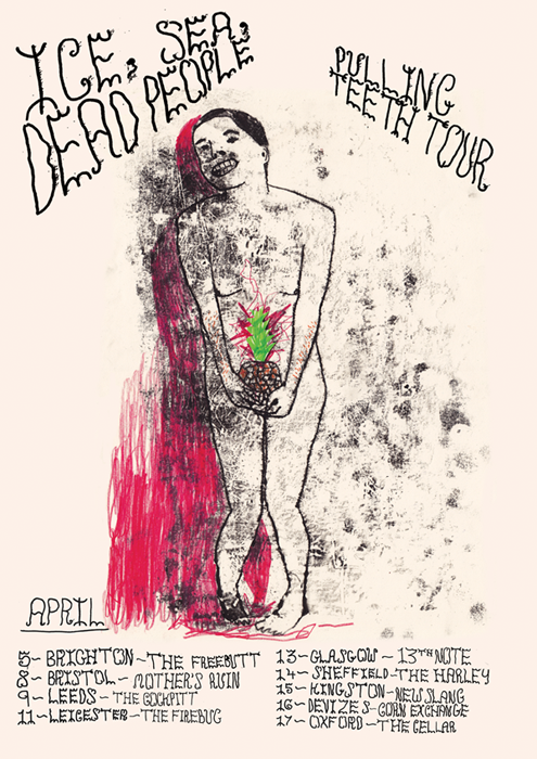 Pulling Teeth tour poster