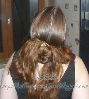 1001 coiffures tutoriel coiffure cinamon avec cheveux laisser libre pour cheveux un minimum long. Black Bedroom Furniture Sets. Home Design Ideas