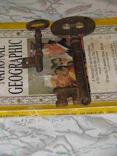 vintage india key