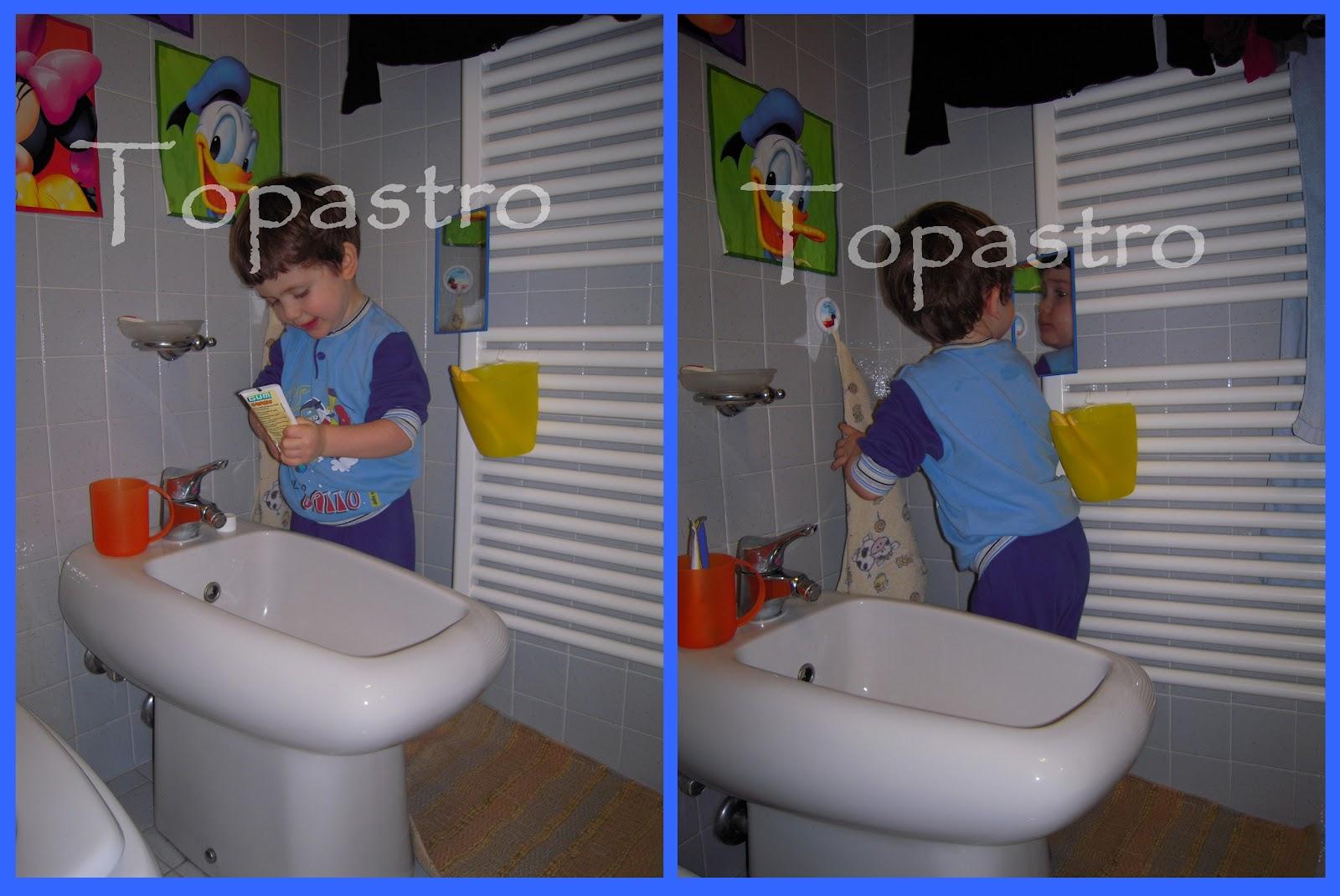 Mamma Claudia e le avventure del Topastro: Il bagno del Topastro