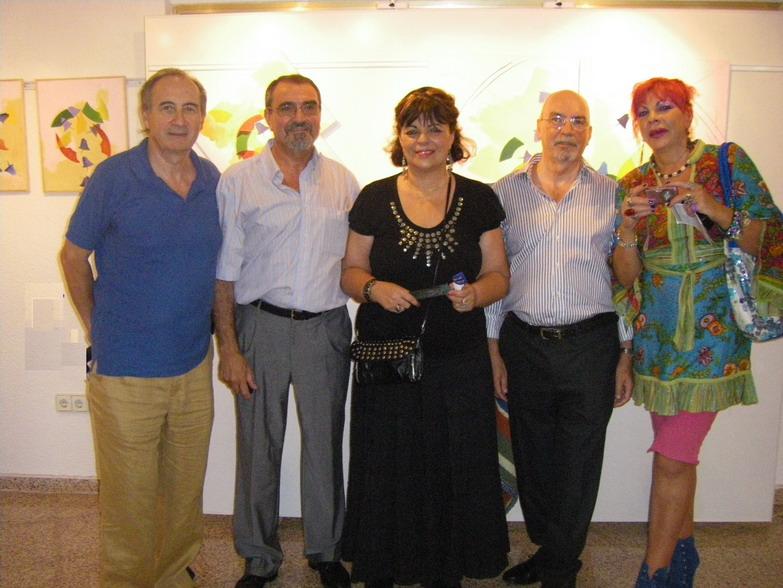 EXPOSICION DEL GRUPO VANGUARDIA CINCO