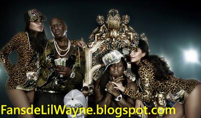 Imagen de Lil Wayne y Birdman en una sesion fotografica