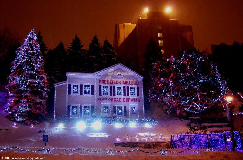 Miller Valley Lights - Milwaukee Daily Photo: Miller Valley Lights