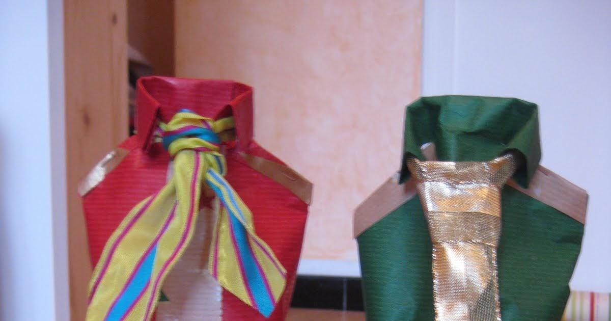 Tout Faire Maison Emballage Cadeau Pour Vos Bouteilles