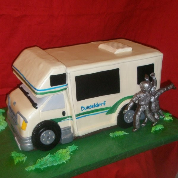 Innovative Cake Camping Cakes 13th Birthday Birthday Cakes Birthday Ideas Cake