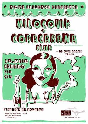 milocovik e copacabana club