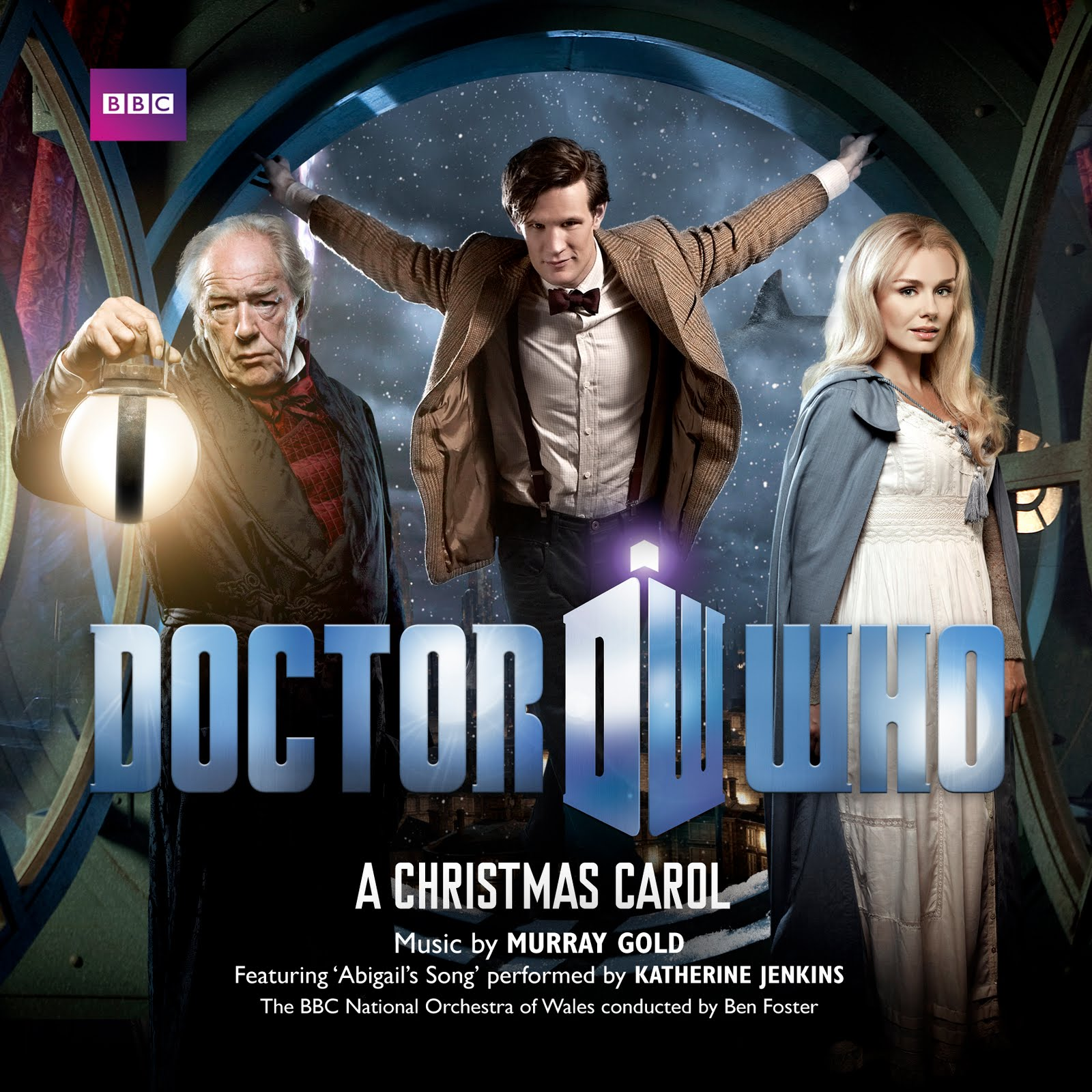 The Ultimate Doctor Who Site: Doctor Who: A Christmas Carol Soundtrack - Cover & Info