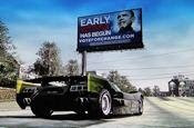 Barack Obama Burnout Billboard