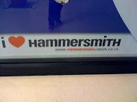 I Heart Hammersmith Slogan