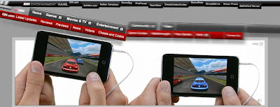 iPod Touch Banner Display Ad Screenshot 1