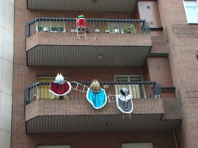 Balcones navideños   decoracion   estiloydeco