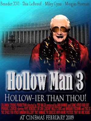 Pope Benedict in Hollow Man 3