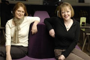 Susie Wood and Gill Hollis (photo by Phil Wilkinson)