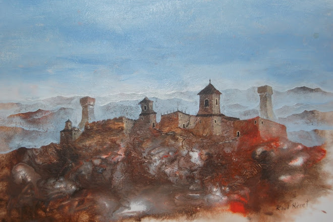 Ruins in Toscana - Acrylic painting