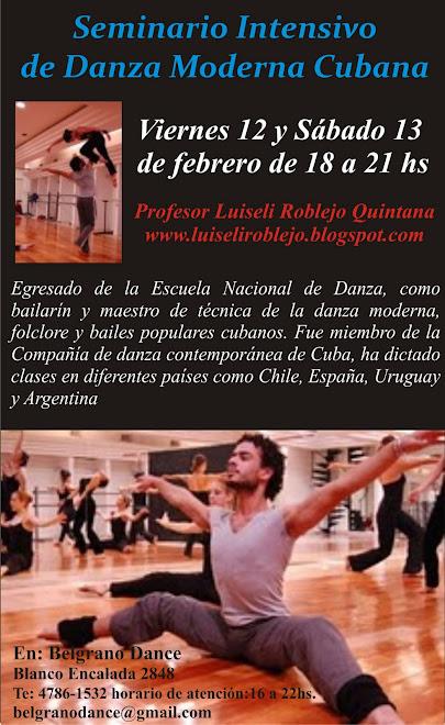 Seminario de Danza Moderna Cubana