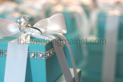 THE WEDDING MAIN ST Centerpieces And Its Tiffany Blue