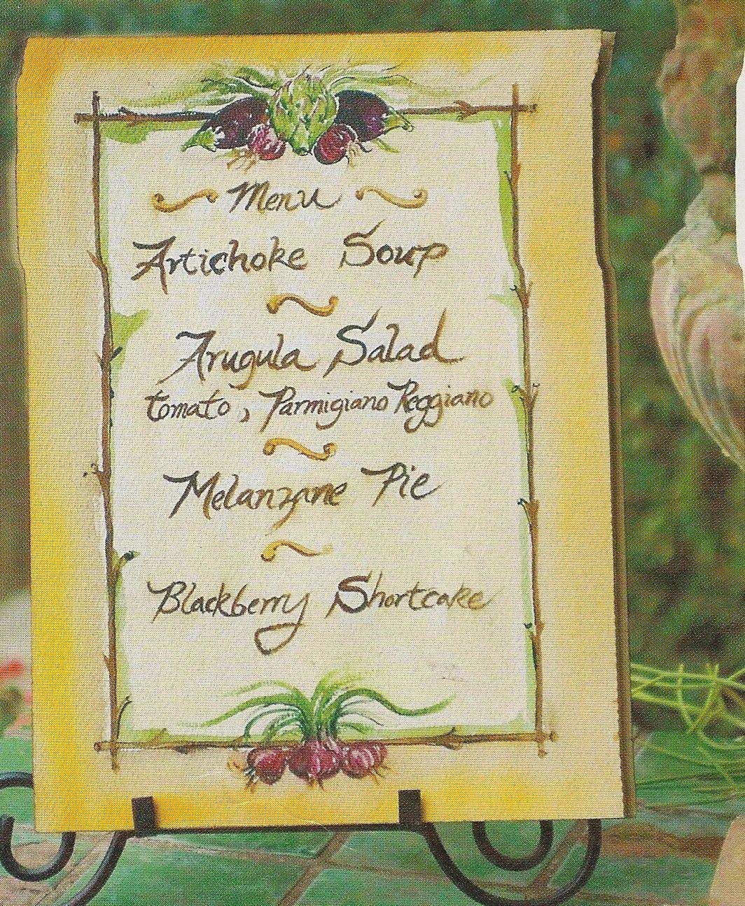 Riviera Boardwalk: A Garden Meal