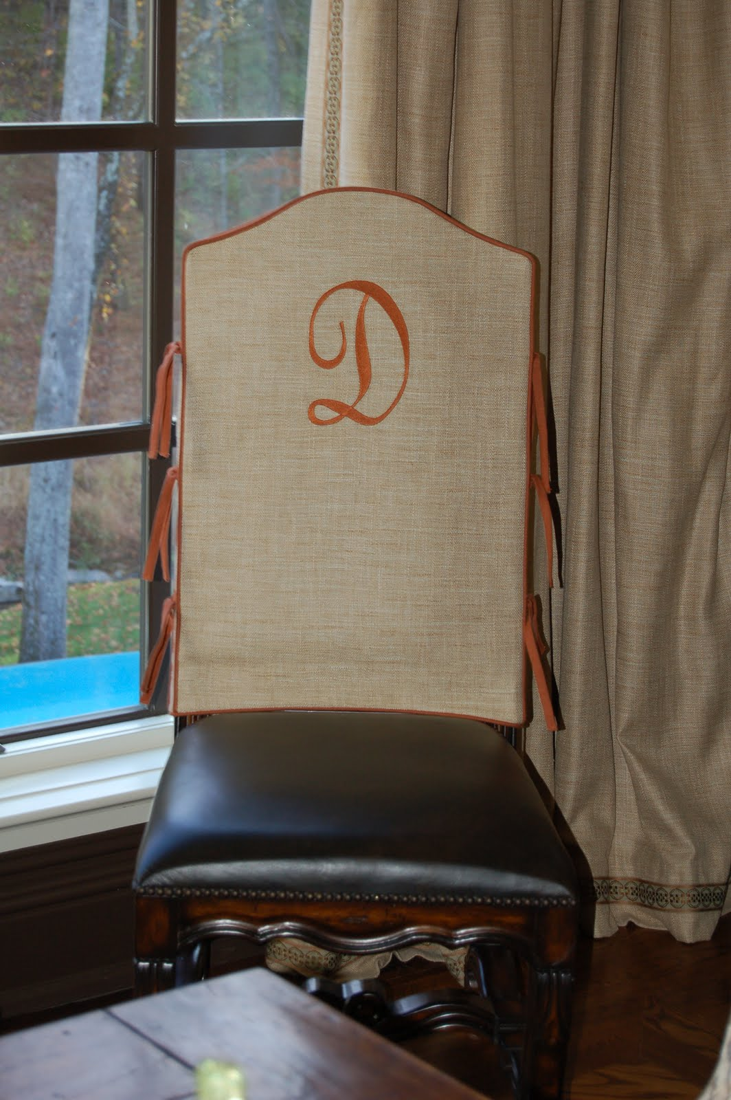 anna s custom design slip cover your dining room chairs