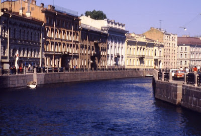 Canal in Leningrad (St. Petersburg)