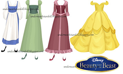 Beauty and the Beast Dresses coming | Free Stardoll Stuff and News