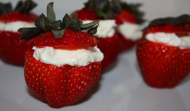 Christy: Strawberry Cheesecake Bites