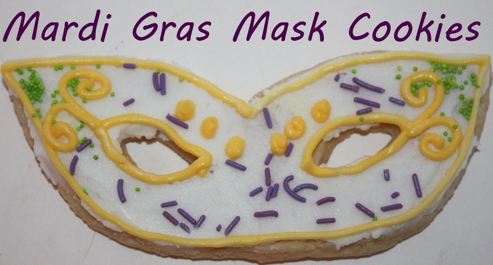 Mardi Gras Mask Cookie Cutter