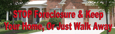 Stop Foreclosure or Walk Away