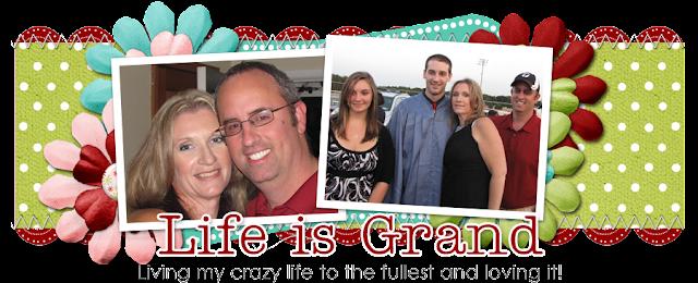 Life is Grand Blog Design