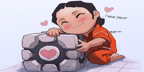 portal 2 chell redesign. portal 2 chell concept art.