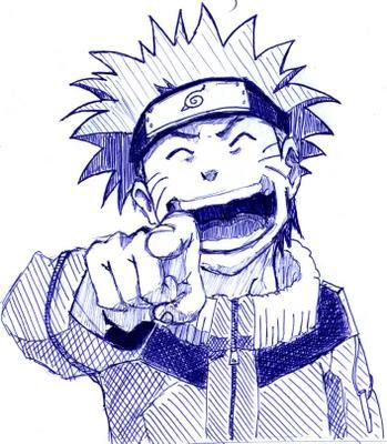 Lukisan Foto Naruto