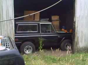 The Old Truck Ranch: Barn Find 1975 Bronco
