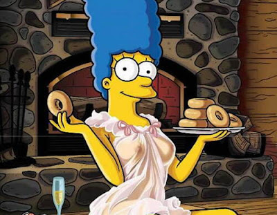 Fotos De Marge Simpson Desnuda Para La Revista Playboy