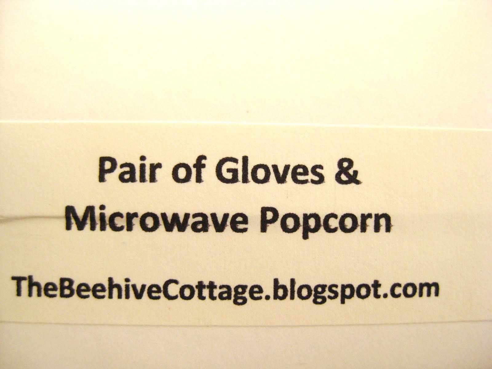 The Beehive Cottage: Snowman Gift Idea!