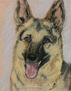 German Shepherd Dog Leader of the Pack By Cori Solomon