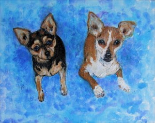 Meaux Petit and Ladie - Chihuahuas by Cori Solomon