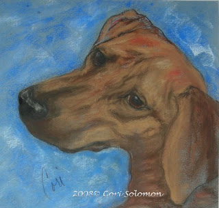 A Twist of Might, Rhodesian Ridgeback by Cori Solomon