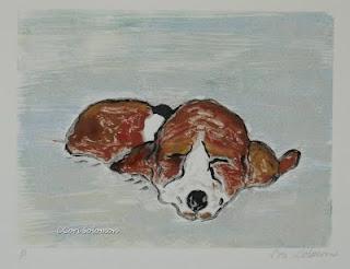 Basset Hound - Sleepyhead By Cori Solomon