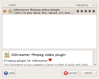 Gstreamer FFmpeg plugin found