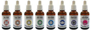 Healthy Choice Crystal Essences for the Chakras