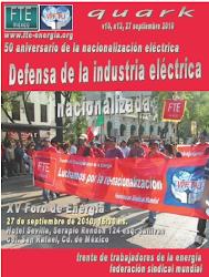 XV Foro de Energía  Defensa de la Industria Eléctrica Nacionalizada