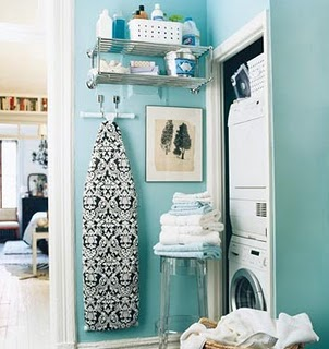 Ideas para organizar un cuarto de lavado plancha amor por la decoraci n - Ironing board solutions for small spaces ideas ...
