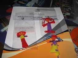 Muñecos Quitapesares confeccionados en el Taller.