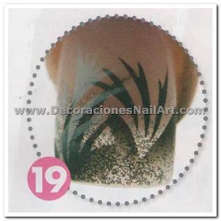 Diseño Práctico y fácil de hacer en uñas acrílicas (AEROGRAFíA) Diseño Práctico y fácil de hacer en uñas acrílicas (AEROGRAFíA) Dise 25C3 25B1os de U 25C3 25B1as 64