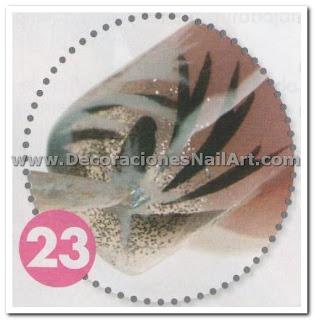Diseño Práctico y fácil de hacer en uñas acrílicas (AEROGRAFíA) Diseño Práctico y fácil de hacer en uñas acrílicas (AEROGRAFíA) Dise 25C3 25B1os de U 25C3 25B1as 57