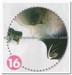 Diseño Práctico y fácil de hacer en uñas acrílicas (AEROGRAFíA) Diseño Práctico y fácil de hacer en uñas acrílicas (AEROGRAFíA) Dise 25C3 25B1os de U 25C3 25B1as 44