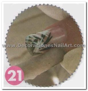 Diseño Práctico y fácil de hacer en uñas acrílicas (AEROGRAFíA) Diseño Práctico y fácil de hacer en uñas acrílicas (AEROGRAFíA) Dise 25C3 25B1os de U 25C3 25B1as 47