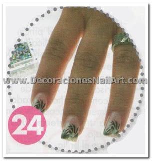 Diseño Práctico y fácil de hacer en uñas acrílicas (AEROGRAFíA) Diseño Práctico y fácil de hacer en uñas acrílicas (AEROGRAFíA) Dise 25C3 25B1os de U 25C3 25B1as 51